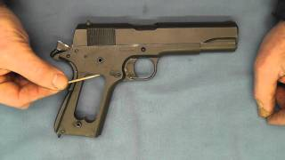 Augusta Arsenal 1911A1 .45 ACP X Serial Number