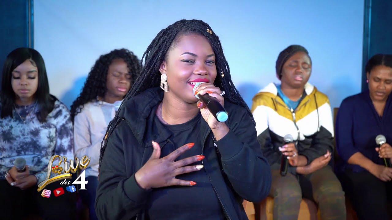 LIVE DES 4 avec Deborah Lukalu intégrale