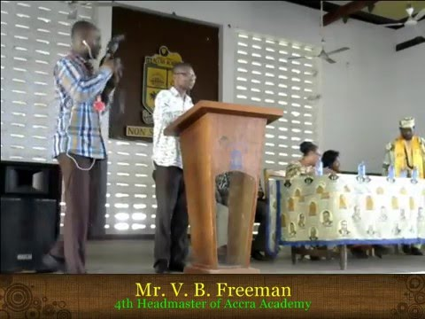 Launch of V.B. Freeman Scholarship fund