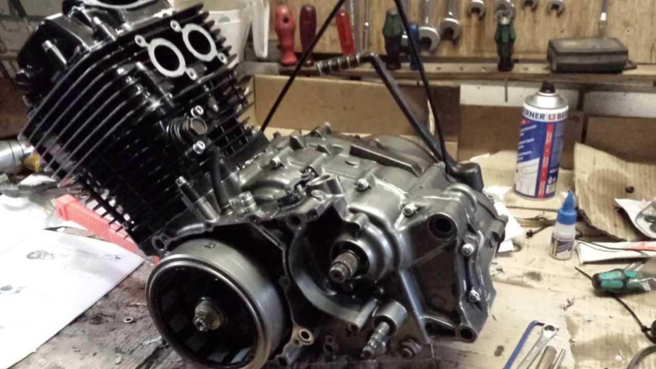 Yamaha Xt Engine Rebuild