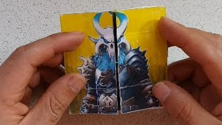 TUTORIAL Transformations of Fortnite SKIN DIY Endless Card