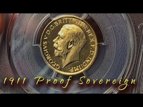 Fab 1911 Proof Sovereign pickup from 1stsovereign.co.uk at L
