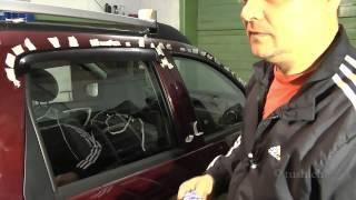 видео Ветровики на авто. Купить дефлекторы по доступной цене в Москве