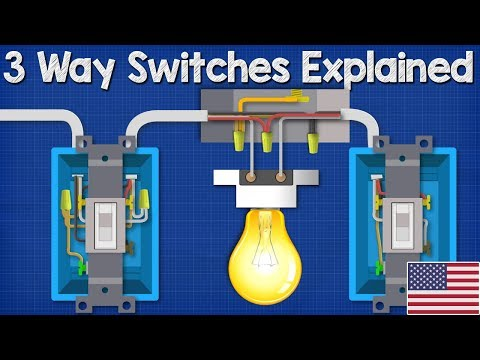 [DIAGRAM_3ER]  3 Way Switches Explained - How to wire 3 way light switch - YouTube | Light Switch Wiring Diagram 3 Wires |  | YouTube