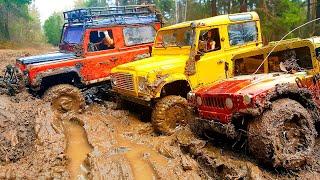 RC Trophy - mud diggers - визги и брызги :)
