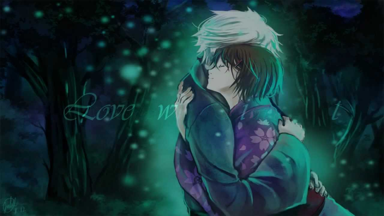 Boy And Girl Sad Wallpaper Love Without Touch Hotarubi No Mori E Hotaru Amp Gin