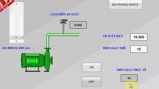 Hướng dẫn lập trình bật tắt bơm theo áp suất trên WINCC và PLC S7-300