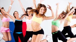Аэробика для похудения. Сексуальные танцы девушек