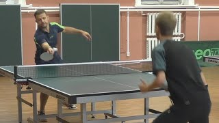 Андрей БУКИН vs Никита ПОЛЯНСКИЙ, Master Open, Настольный теннис, Table Tennis