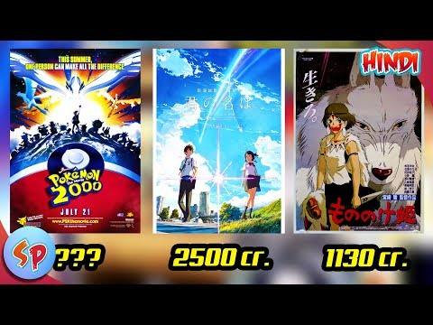 Top 10 Highest Grossing Anime Movies   Explained In Hindi   India Want Anime