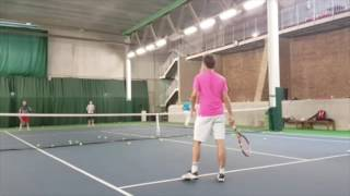 Andy Hill Cardio Tennis Chicago 2 Ball Advanced Group