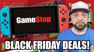 GameStop's BIG Nintendo Switch Black Friday 2020 DEALS!