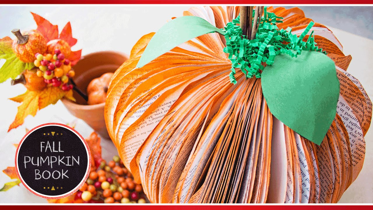 Oct 12,  · 9. Glue the stems inside the middle of the pumpkin with hot glue. You can also cut out leaves with the green paper and stick those next to the stems. The bigger your circle the bigger the pumpkin. You could also use more than 6 circles to make the pumpkin .