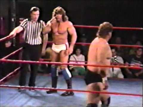 IWA Championship Wrestling - Kerry Von Erich vs Man Mountain Mike Moore