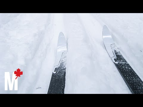 What it feels like to ski on New Brunswick's Crabbe Mountain