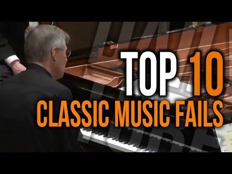 TOP 10 Classic Music Fails! || DailyTube