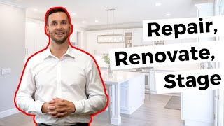 Home Sale Tips: Repair, Renovation, Staging #movemetotx