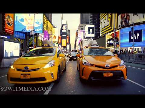 Walking tour of midtown and Times Square New York City