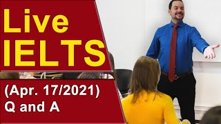 IELTS Live - Questions and Answers - Know the Test