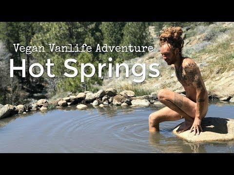 What I eat in a day Vegan Vanlife Adventures Buckeye Hot Springs California