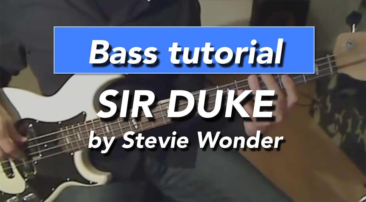 stevie wonder bass lines pdf