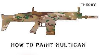 How to paint MultiCam / покраска в камуфляж Мультикам(, 2016-08-24T12:27:41.000Z)