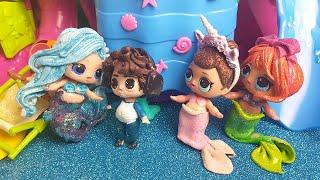 Candy gelosa di Oceania al Mermaid Party delle LOL Surprise 🌊[Storie LOL]