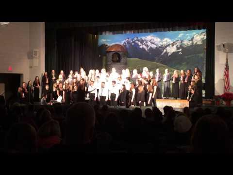 2014 Ashwaubenon high school christmas musical last song