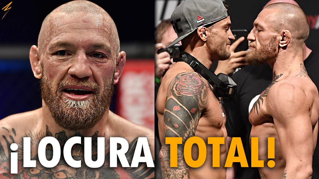 Conor McGregor EXIGE REVANCHA con Dustin Poirier TRAS UFC 257 | Dana SOBRE el DEBUT de Chandler