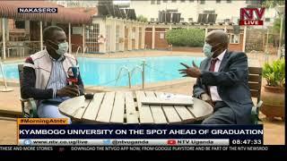 Kyambogo University on the spot ahead of graduation