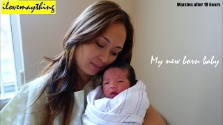Birth Delivery: My New Born Baby Boy - Hulyan & Maya
