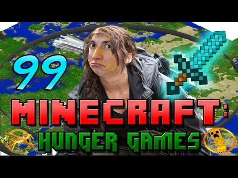 Minecraft: Hunger Games w/Mitch! Game 99 - Biggest Map