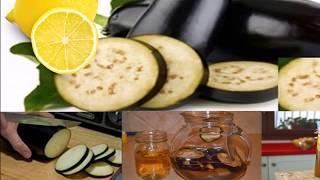 Jugo de berenjena con limon para adelgazar