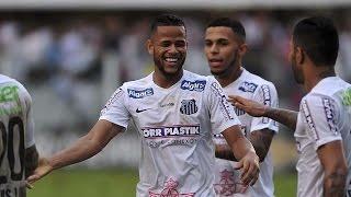 santos 5 x 1 atltico pr   gols   brasileiro 06 12 15