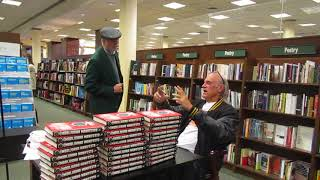 Jesse Ventura meets fans and tells stories.  Great stuff!