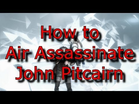 Assassin's Creed 3 - How to Air Assassinate John Pitcairn