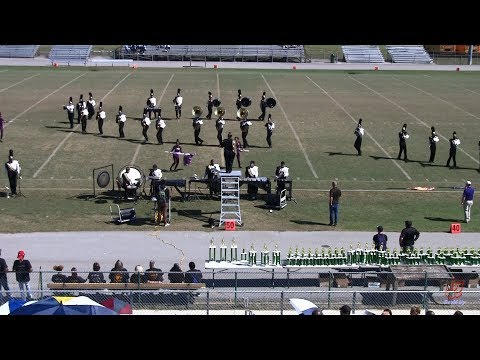 Knightdale High School Marching Knights at White Oak 10/12/2019