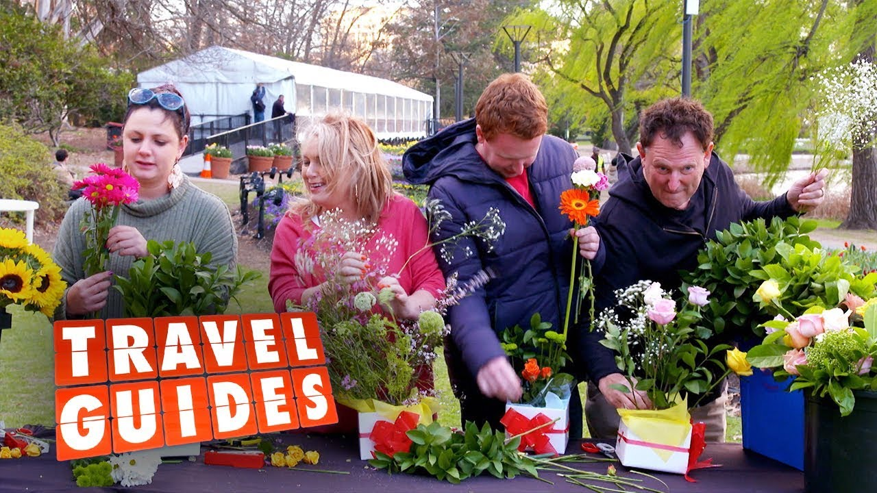 Floriade brings out the Guides' artistic sides | Travel Guides 2019