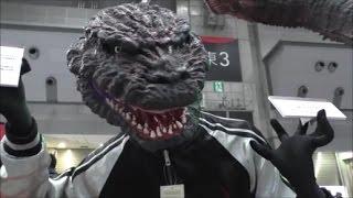 シン・ゴジラ  マスク&スカジャン:Shin Godzilla face mask & souvenir jacket thumbnail