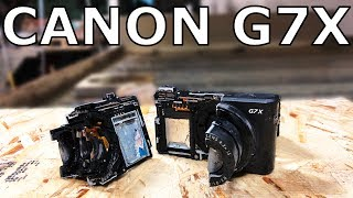 Canon G7X Cut In Half With 60,000 PSI Waterjet