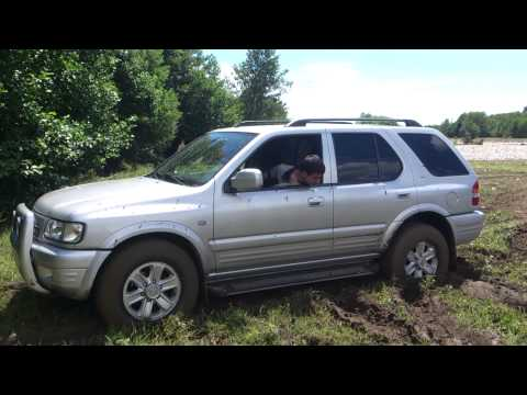 Джипинг Opel Frontera В грязи