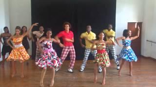 Salsa Dance Routine - Grupo BanRara - Havana Cuba 2013