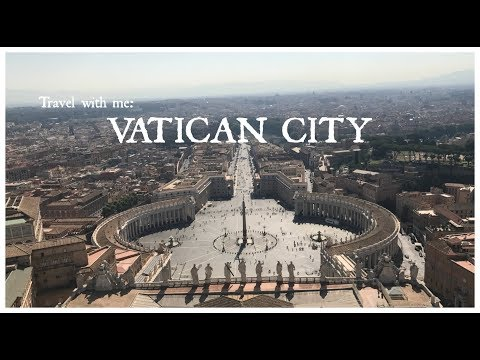 Travel With Me: VATICAN CITY | Travel Vlog