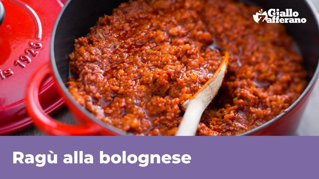 Download RAGÙ ALLA BOLOGNESE - RICETTA ORIGINALE per lasagne e tagliatelle