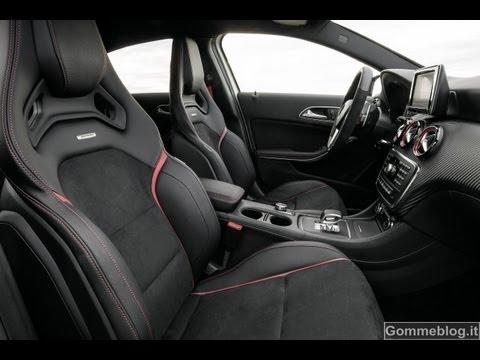 Mercedes A45 Amg Interior View