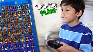"""How Much Money Have You Spent On This Game?"" - Random Duo's Fortnite Social Experiment!"