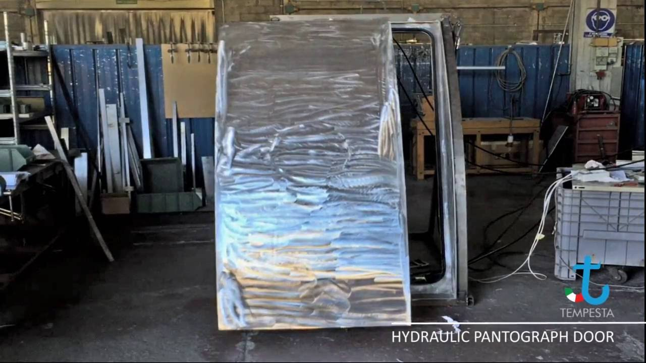 & Hydraulic Powered Pantograph Door - YouTube