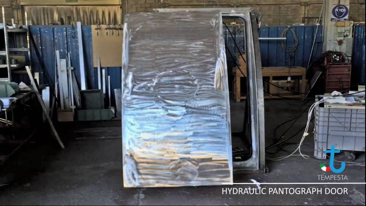 & Hydraulic Powered Pantograph Door - YouTube pezcame.com