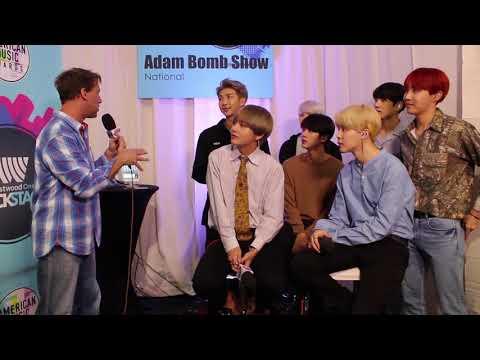 BTS Backstage at