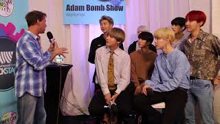 BTS Backstage at The AMAs